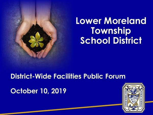 The District's Presentation from October 10 Public Forum