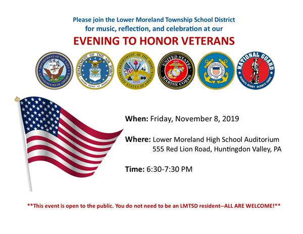 An Evening to Honor Veterans