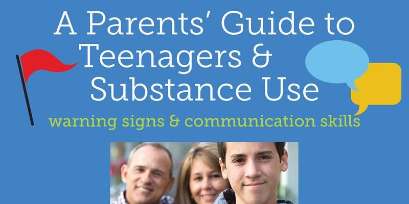 "Nov. 21 Presentation on  ""A Parents' Guide to Teenagers & Substance Use"""