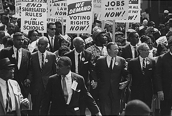 african americans campaign for civil rights
